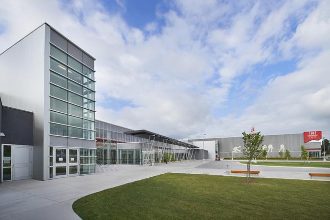 Wayne Gretzky Sports Centre Expansion