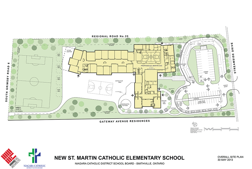 New St. Martin Catholic Elementary School + Daycare Centre