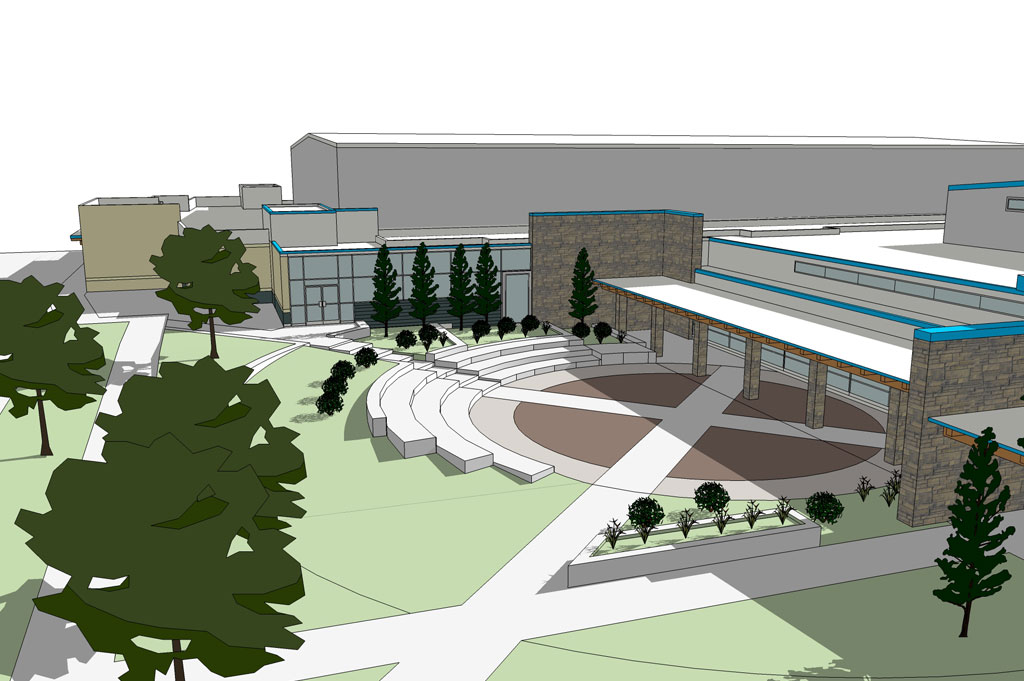 Six Nations Youth & Seniors' Recreation Centre – Schematic Design