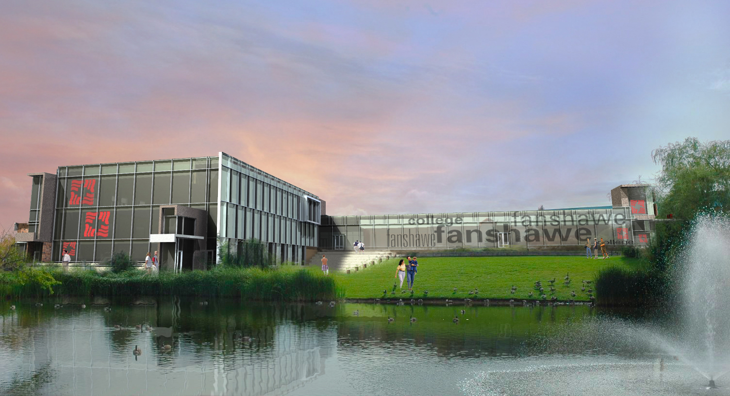Fanshawe College - Woodstock Campus Expansion (Schematic)