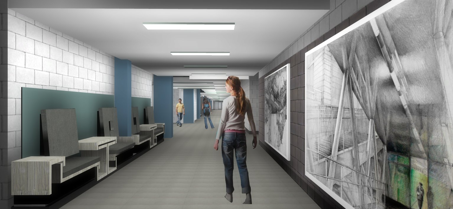 Mohawk College - Fennell Campus Upgrades , E-Wing